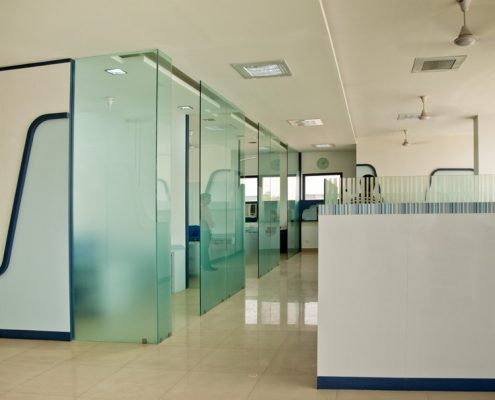 office glass partition brisbane