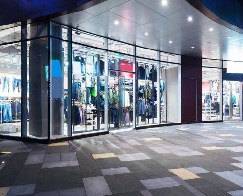 glazier shops window glass